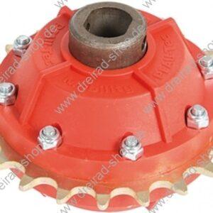 Dreirad Differential rote Ausführung