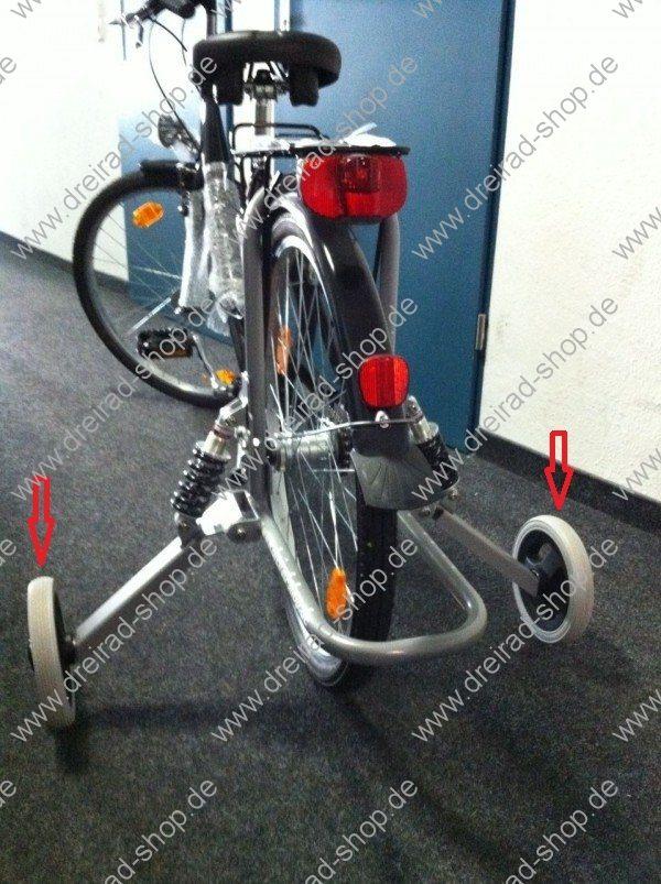Ersatzräder Austausch für Stützräder Erwachsene Pfautec Pfiff