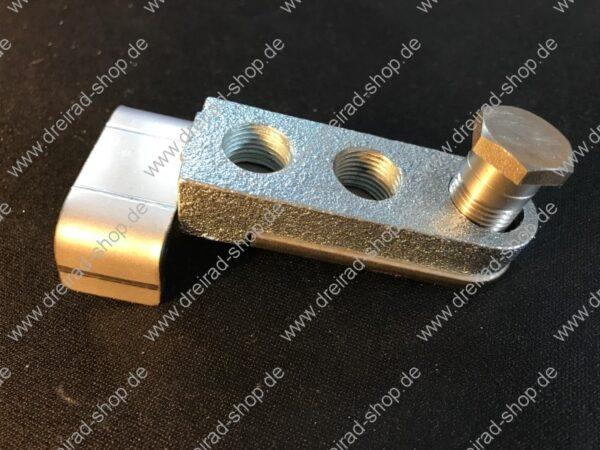 Adapter für Kurbelverkürzer für breite Kurbeln inkl Schraube - Montageanleitung