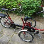 Große Wetterschutzplane für Erwachsenen Dreirad für ein Huka Copilot3